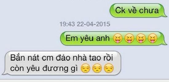 Muôn kiểu nhắn tin thử chồng của các bà vợ Việt
